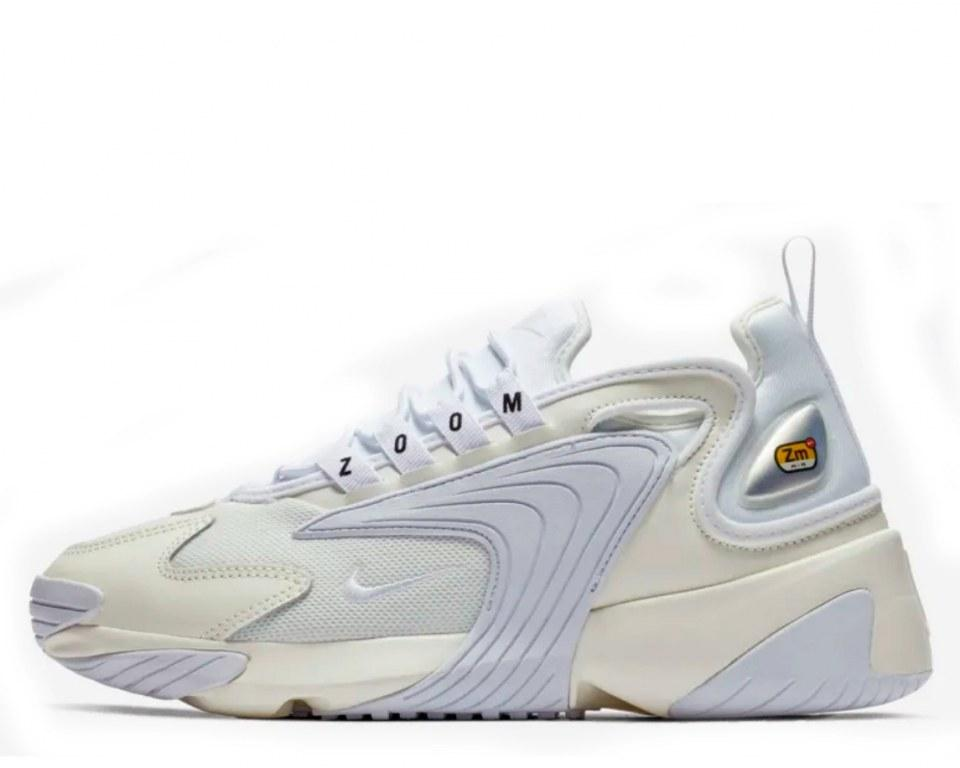 """Кроссовки Nike Zoom 2K """"Sail/Black/White"""" Арт. 4210"""