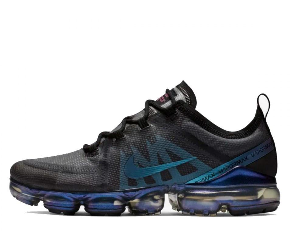 "Кроссовки Nike Air VaporMax 2019 ""Black/Anthracite/Laser Fuchsia"" Арт. 4209"
