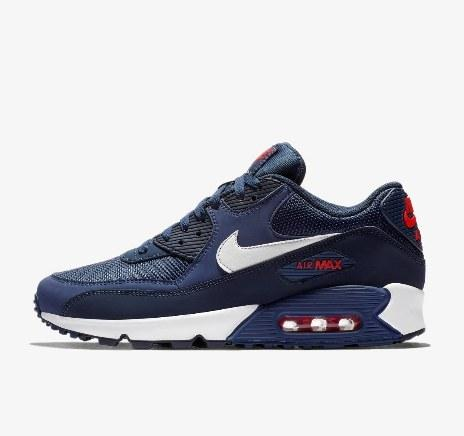 "Кроссовки Nike Air Max 90 Essential ""Navy/Red"" Арт. 4148"