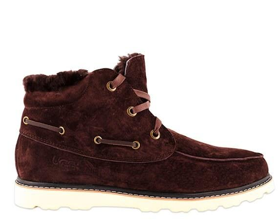 "UGG DAVID BECKHAM LACE BOOT ""BROWN"" Арт. 1532 (Уценка)"