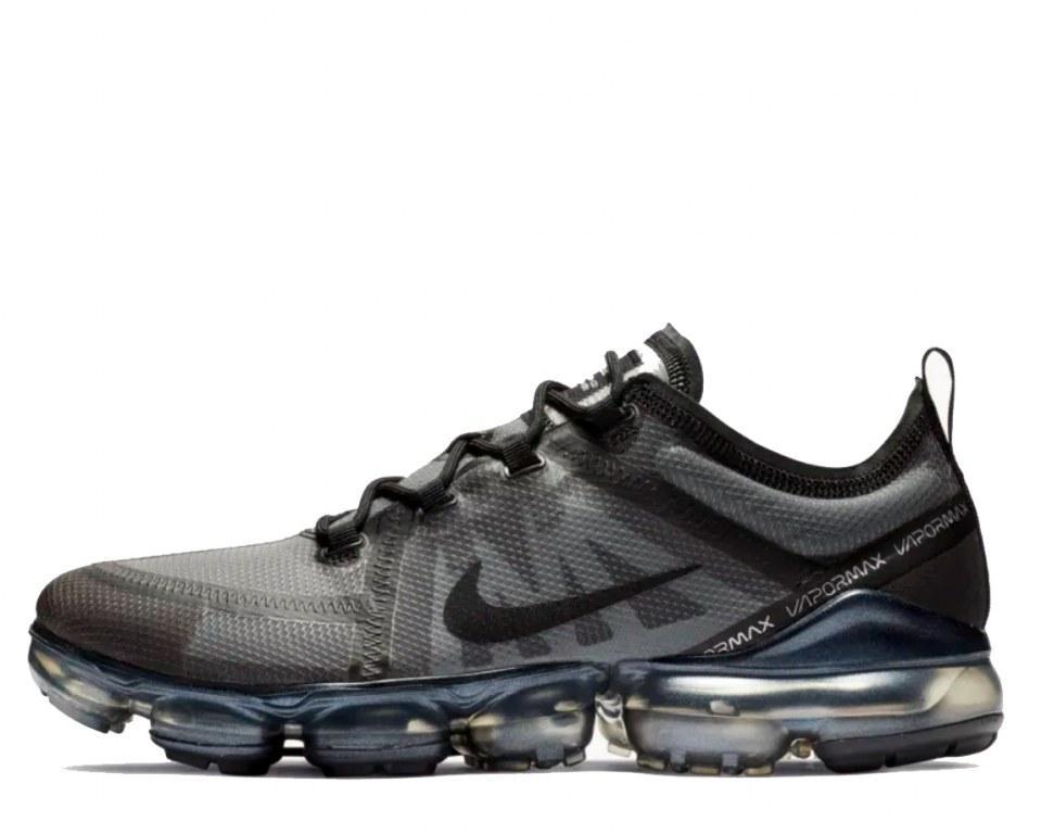 "Кроссовки Nike Air VaporMax 2019 ""Black/Grey"" Арт. 4090"