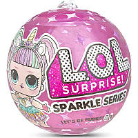 L. O. L. Surprise Dolls Sparkle Series. Сяючий сюрприз лол. Лол Сияющий Сюрприз Глиттер