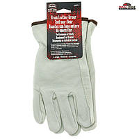 Чоловічі рукавички з м'якої шкіри Boss, розмір L