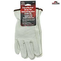 Мужские перчатки из мягкой кожи Boss, размер L, фото 1
