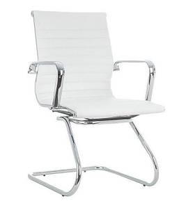 Кресло офисное Алабама Х, для посетителей, цвет белый