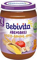 Молочная каша Bebivita с яблоками и бананами Спокойной ночи 190 г с 4 месяцев