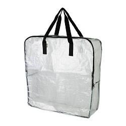 ИКЕА (IKEA) ДИМПА, 100.567.70, Сумка, прозрачный, 65x22x65 см