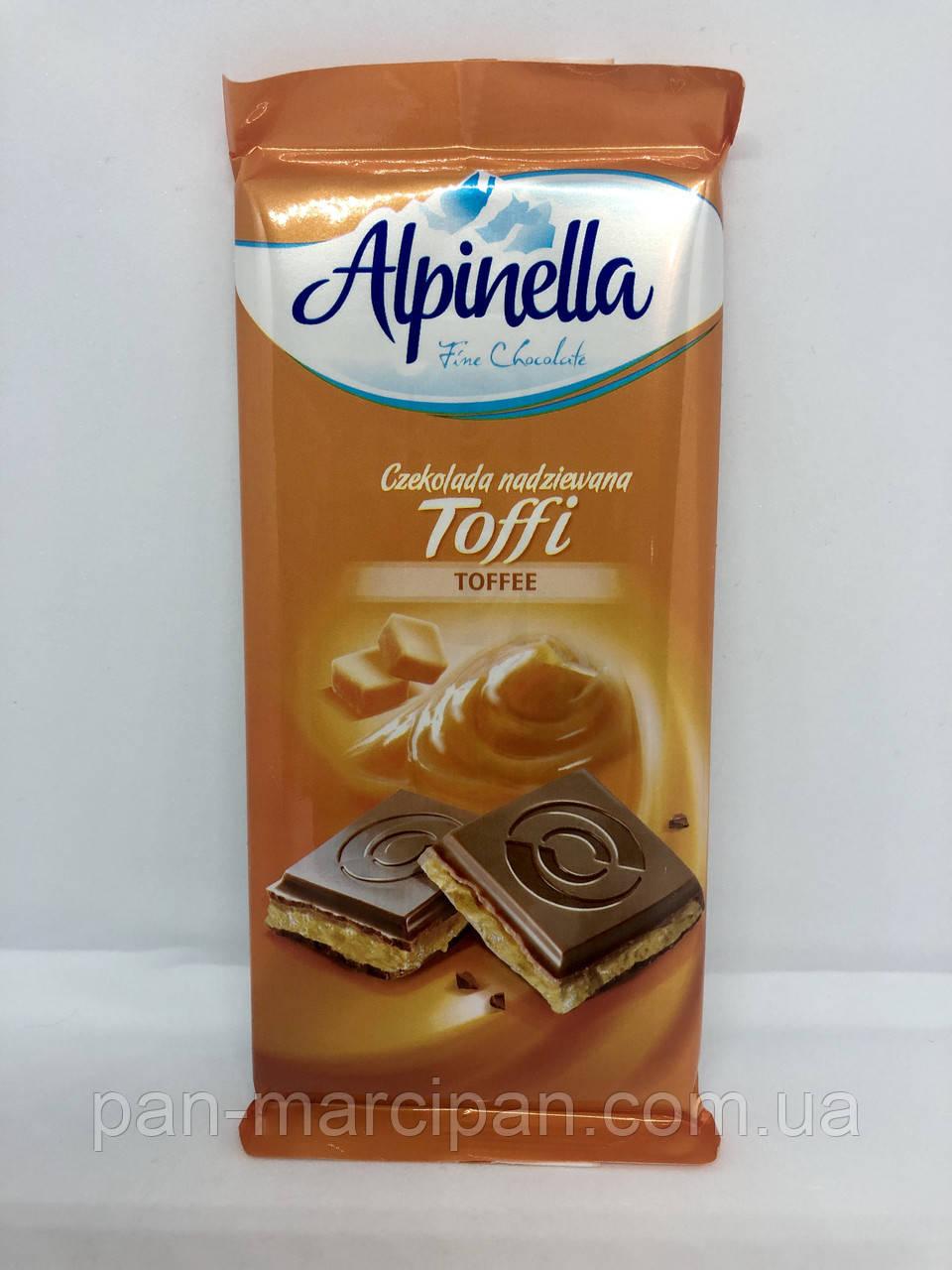 Шоколад Alpinella карамель 100г Польща