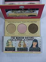 Набор хайлайтеров TheBalm The Manizer Sisters Palette