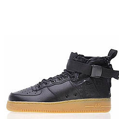 "Кроссовки Nike SF Air Force 1 Utility Mid ""Black/Gum"" Арт. 1984"