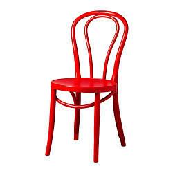 ИКЕА (IKEA) BJURÅN, 404.224.42, Кресло, темно-красный