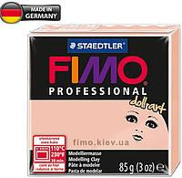 Полимерная глина - FIMO Professional doll art, 8027-432 (полупрозрачный розовый), 85г.
