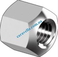 DIN 6330, гайка шестигранная, высота - 1,5d из нержавеющей стали
