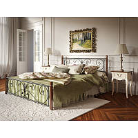 Кровать на деревянных ножках Тенеро Крокус Черный