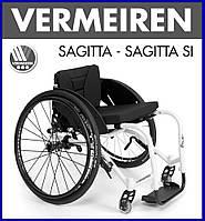 Активная инвалидная Кресло-коляска Vermeiren Sagitta SI Active Wheelchair, фото 1