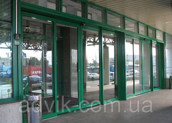 Автоматические раздвижные двери Gilgen (Kaba) SLA