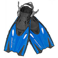 Ласты для плавания детские Aqua Speed Bounty (original) с открытой пяткой, с регулируемым ремешком