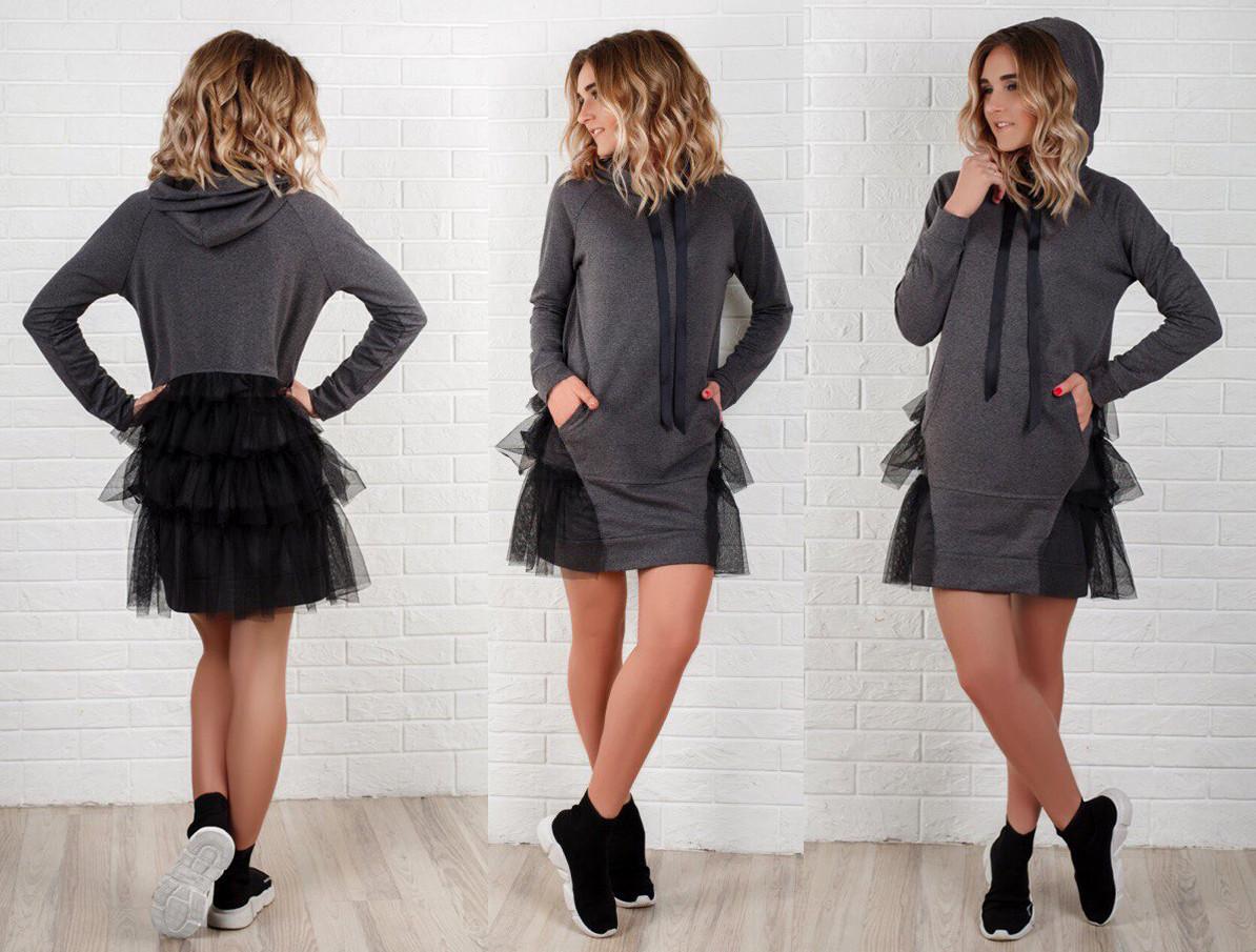 3c5f1c5cff00 Женское стильное платье-туника