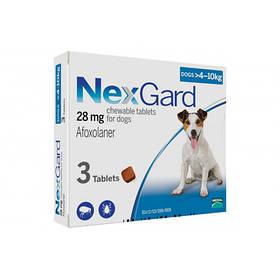 Таблетки Boehringer Ingelheim Nexgard От Блох И Клещей Для Собак M (4-10 Кг) (Упаковка)