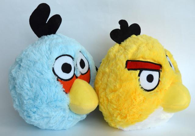 Желтая птица из Angry Birds