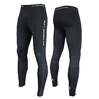 Мужские спортивные утепленные лосины для бега Rough Radical Thunder (original), зимние тайтсы для бега S, Плоские швы|Анатомический