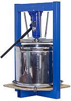 Пресс для сока гидравлический 25л. (с домкратом, нержавейка), фото 2