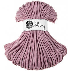 Хлопковый шнур Bobbiny 5 мм, Пыльная роза
