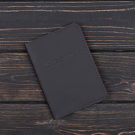 Обложка на паспорт v.1.0. Fisher Gifts STANDART коричневый (кожа)