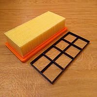 Фильтр складчатый (6.415-953.0) для пылесоса Karcher AD 3 Premium, AD 4 Premium для уборки золы