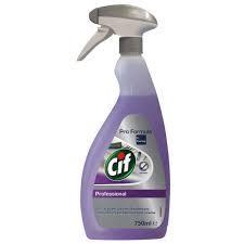 Cif Professional 2in1 Cleaner Disinfectant conc - средство для очистки и дезинфекции поверхностей, 750 мл