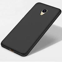 Силиконовый чехол для Meizu M5S, черный