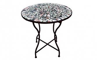 Стол Радуга керамика металл для сада, дачи, терассы купить
