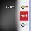 Пирометр со встроенным термометром Trotec BP5F (Германия), фото 6