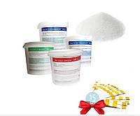 Набор 80511Аква MINI 5в1 Химия для бассейнов до 366 см (тесты, pH+, pH-, шок хлор, фло