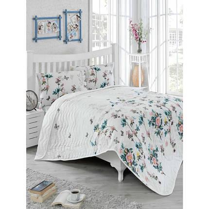 Покрывало 160х220 с наволочкой на кровать, диван Кармела, фото 2