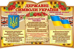 Державні символи України DS_0099_60*90см