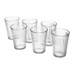 ИКЕА (IKEA) ВАРДАГЕН, 002.869.17, Стакан, прозрачное стекло, 31 сл