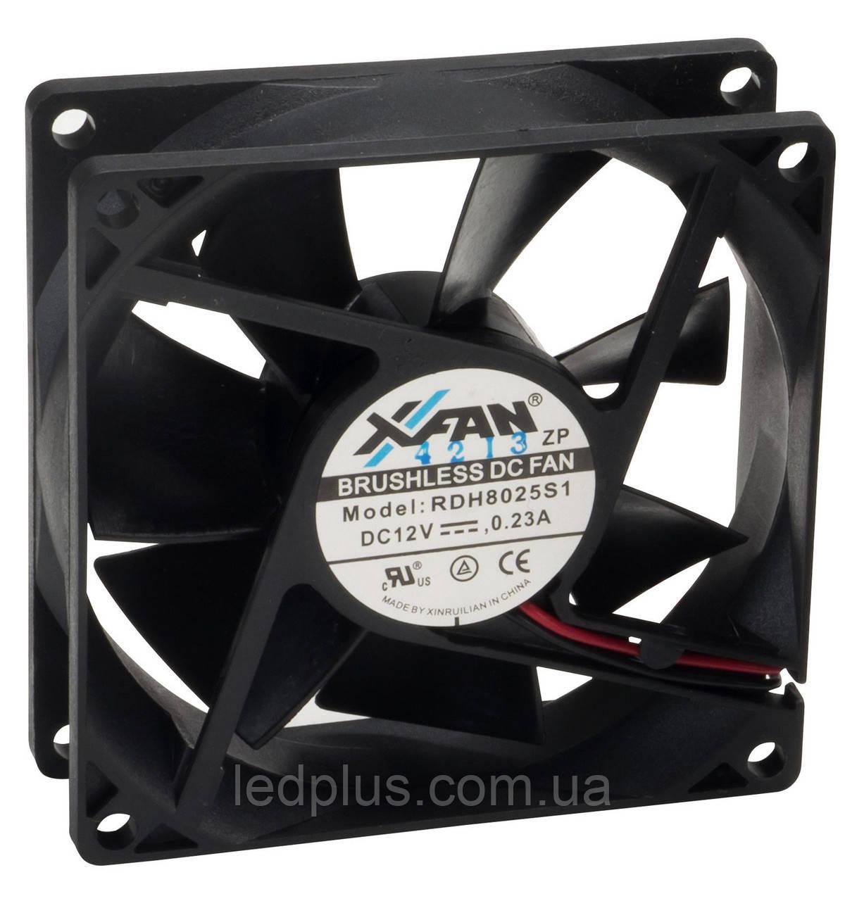 Вентилятор X-FAN RDH8025S1 12В 80х80х25