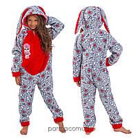 Теплая детская пижама Кигуруми LOL для девочки 149-159 см