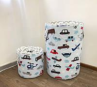 Набор корзин для игрушек с крышкой