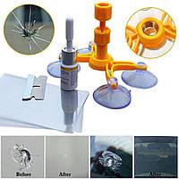 Комплект клей для ремонта сколов трещин лобового стекла