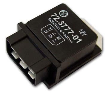 Переривач склоочисника з регулюванням паузи 72.3777-01 (аналог 415.3777) ЕНЕРГОМАШ
