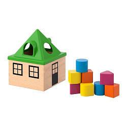 ИКЕА (IKEA) МУЛА, 102.948.89, Коробка д/головоломки, разноцветный