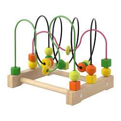 ИКЕА (IKEA) МУЛА, 803.876.15, Развивающая игрушка перевод