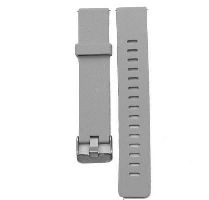 Сменный ремешок для фитнес браслета Lemfo V11 (Силиконовый, Серый)