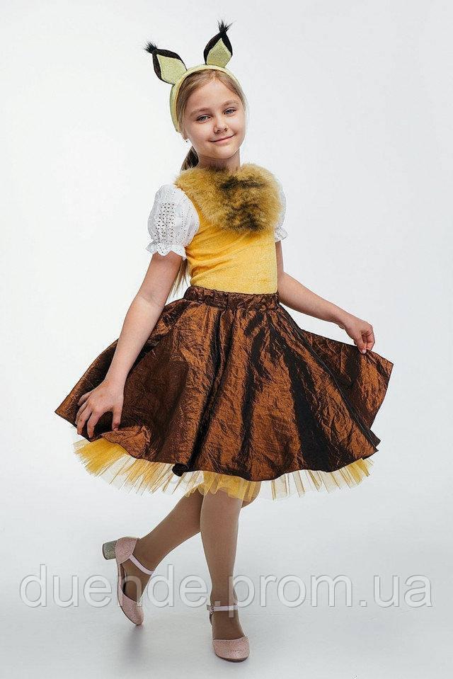 Белочка карнавальный костюм для девочки \ размер 110-116; 122-128 \ BL - ДЖ95