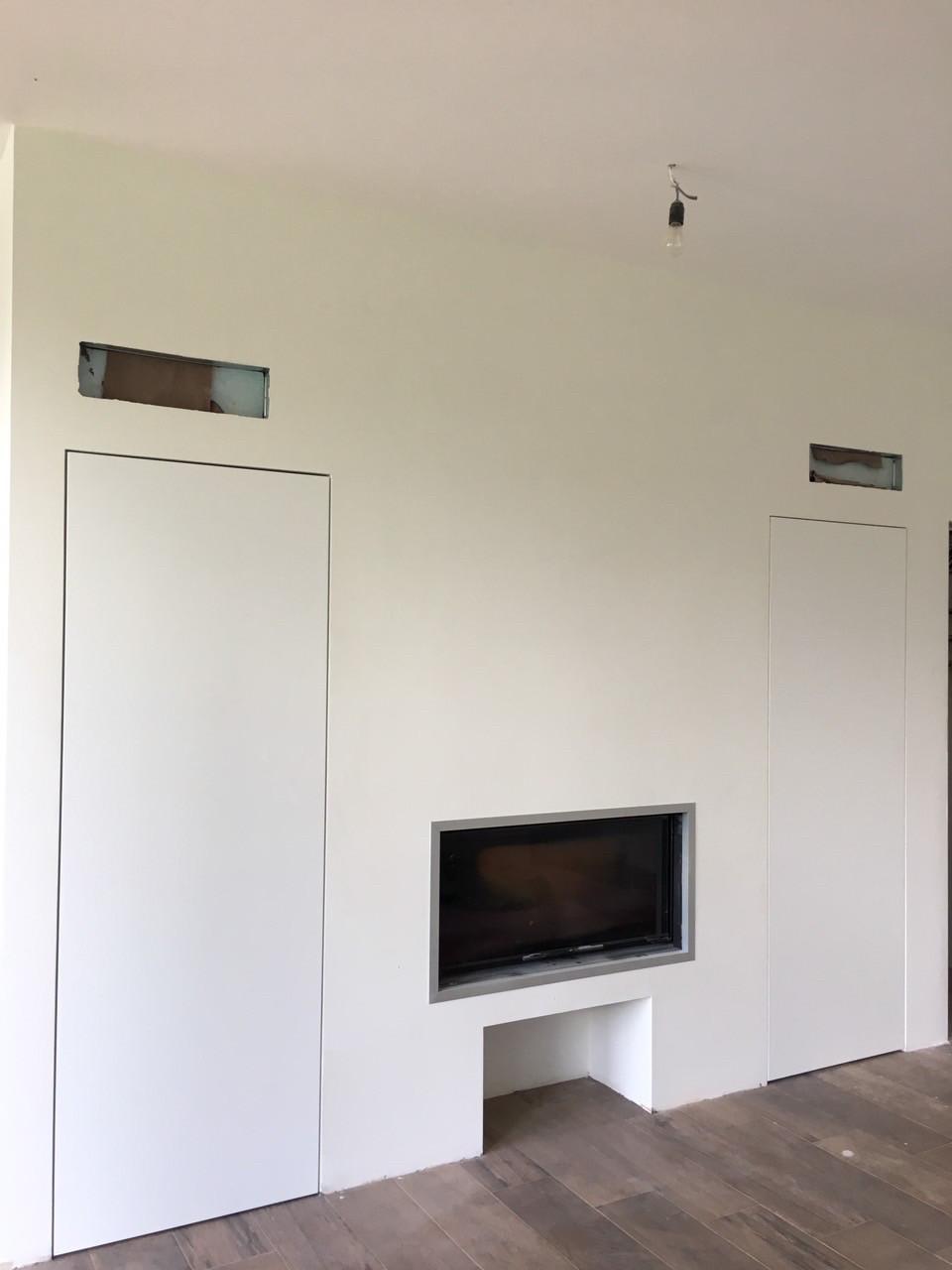 Шкафы встроенные в стену