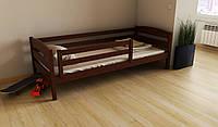 """Кровать детская подростковая деревянняная """"Хюго"""" 70*140 размеры массив бук, фото 1"""