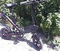 Электровелосипед  R1 36V,нагрузкка до 120кг, складной електровелосипед