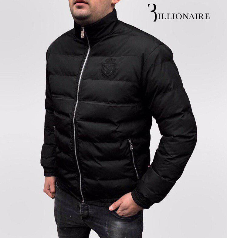 Куртка мужская Billionaire P0110 черная